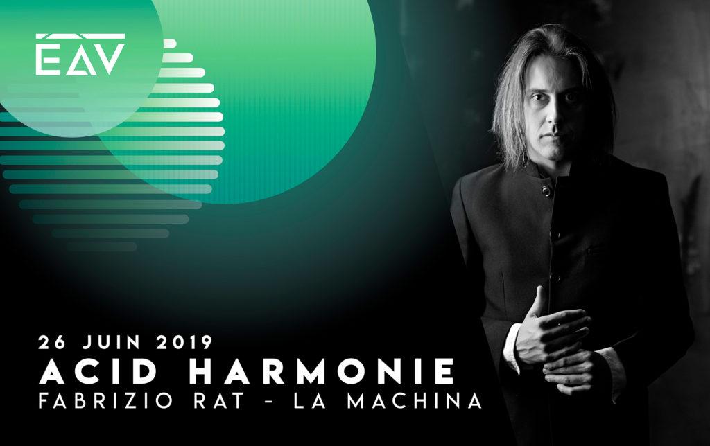 Fabrizio Rat La Machina present au festival Echo A Venir Bordeaux